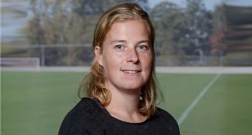 Irene Dekker, projectmanager KNVB